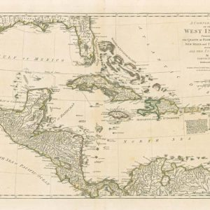 Antique reproduction - 1786 Dunn Map