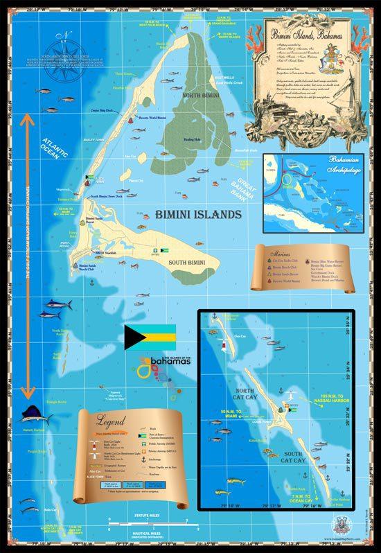 Bimini Map