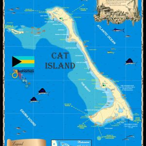 Cat Island Map