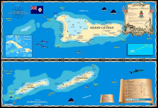 Cayman Islands Map