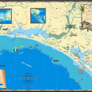 Fort Walton Beach to Panama City Map