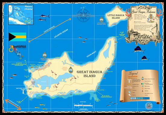 Great Inagua Map