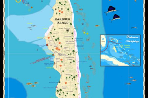 Harbour Island Map