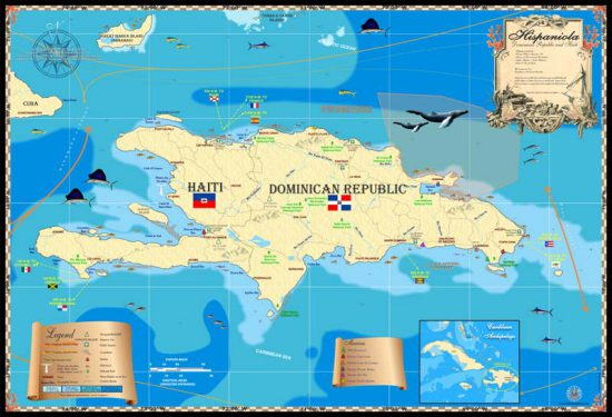 Hispaniola Map