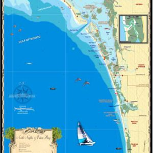 North Naples and Estero Bay Map