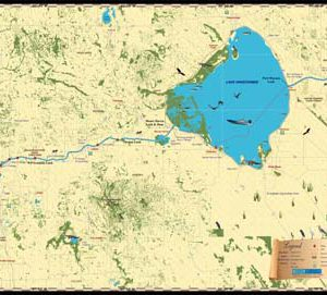 Okeechobee Waterway Map
