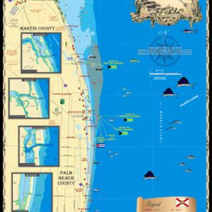 Palm Beach to Stuart Map