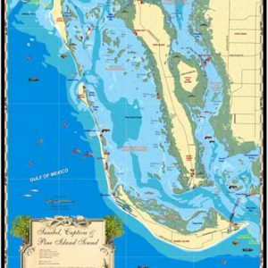 Sanibel, Captiva and Pine Island Sound Map