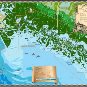 Ten Thousand Islands Map