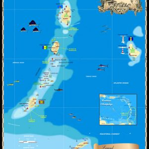 Windward Islands Map