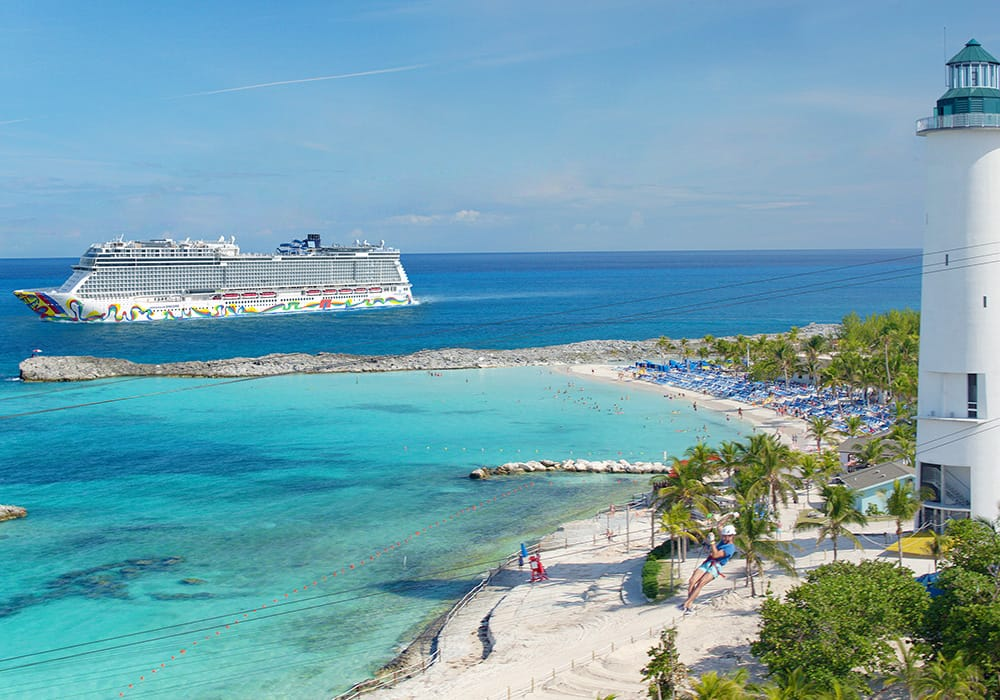 stirrup cay, cruise shop, bahamas history