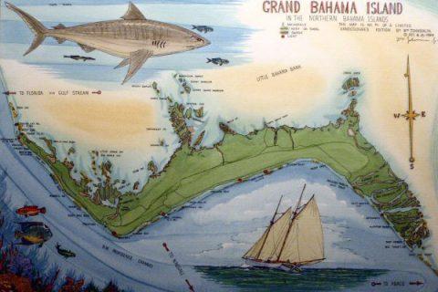 Grand Bahama maps